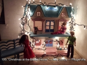 100. Christmas at the Barbie house