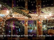 028. Lit Up for the Holidays at Hula Hut
