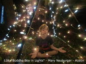 128. Buddha Boy in Lights