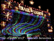 144. Trail of Lights 2013