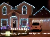018. Spindler's Family Light Show