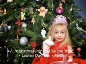 047. Christmas Princess by the Tree