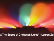 002.  Going at the Speed of Christmas Lights