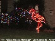 101. Santa Rides a Flamingo