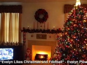 127. Evelyn Likes Christmas and Football