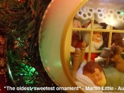 128. The oldest, sweetest ornament