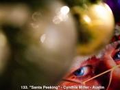 133. Santa Peeking
