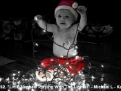 152. Little Nephew Playing With The Lights