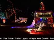 160. Fire Truck - Trail of Lights