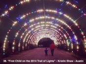 38. First Child on the 2014 Trail of Lights