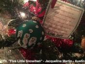 74. Five Little Snowmen