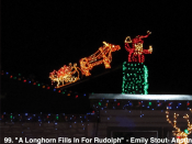 99. A Longhorn Fills In For Rudolph