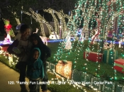 120. Family Fun Looking At Lights