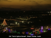 129. Trail of Lights at Sunset