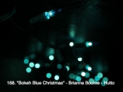168. Bokeh Blue Christmas