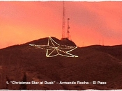 001. Christmas Star At Dusk