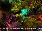 180. Let Your Light Shine. Matthew 5:16
