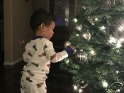 077. Baby's First Tree Decorating